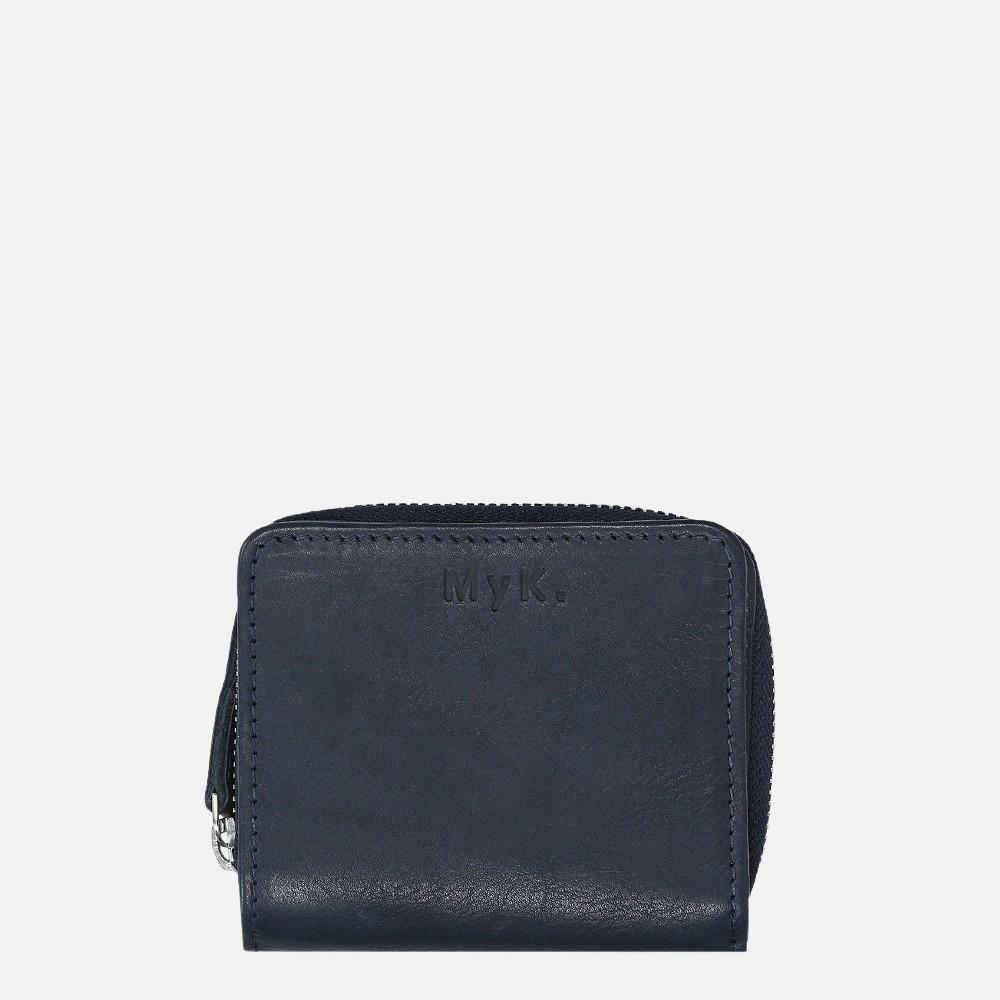 MyK Wallet Sparkle portemonnee S midnight blue