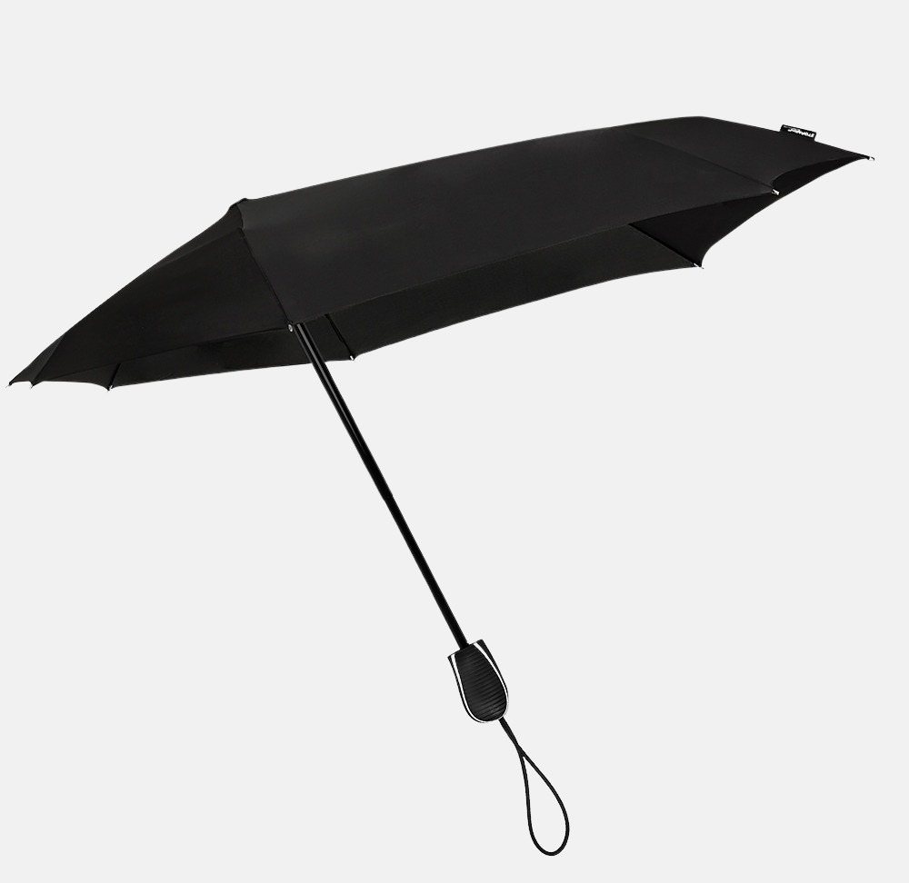 Impliva opvouwbare (storm)paraplu black