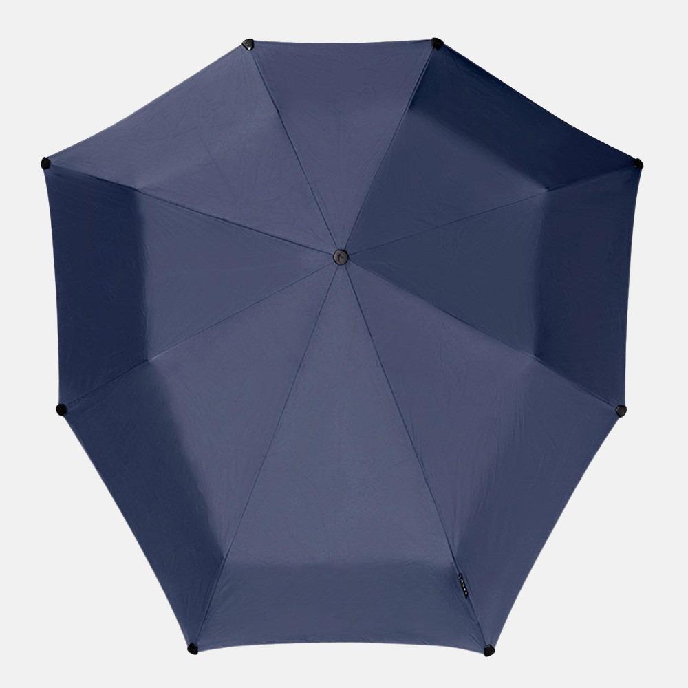 Senz Mini Automatic paraplu midnight blue