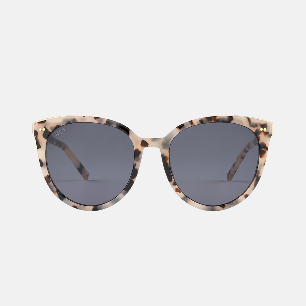 Kapten & Son Manhattan zonnebril sand tortoise black