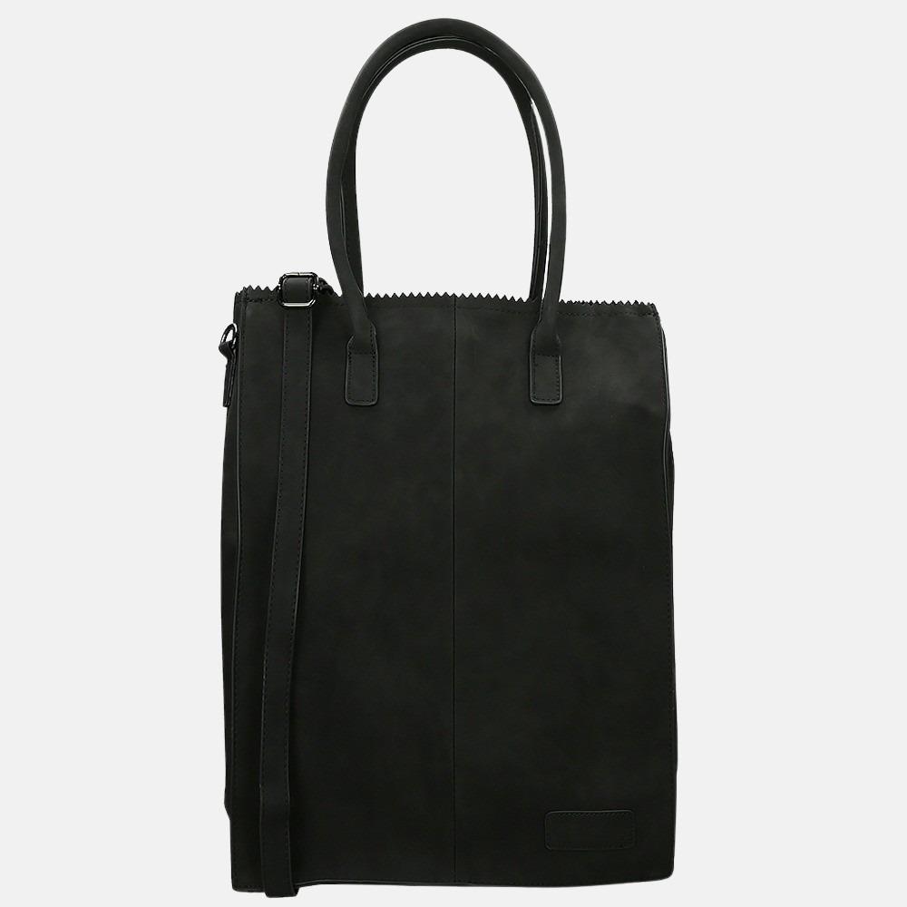 Zebra Trends Rosa shopper 15.6 inch XL black
