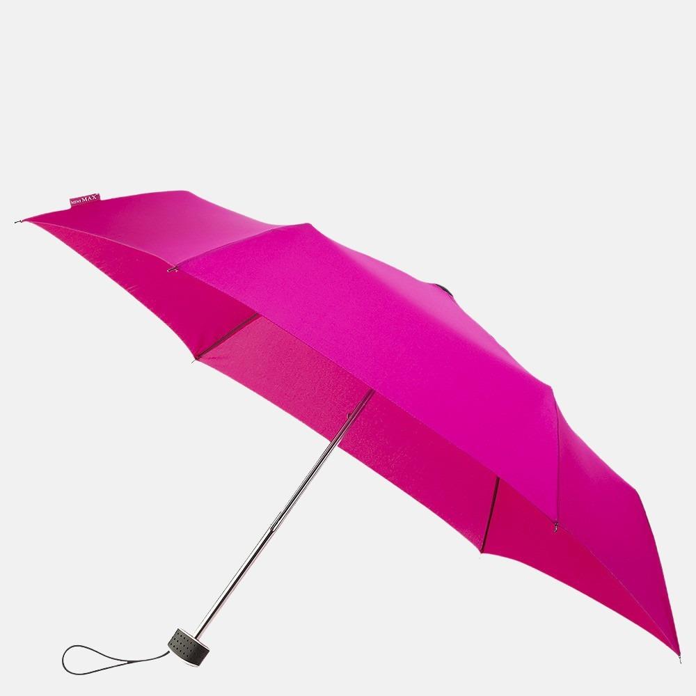 Impliva opvouwbare paraplu basic fuschia