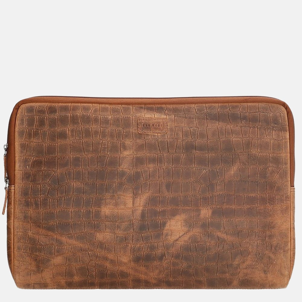 Old West San Angelo laptophoes 17 inch bruin