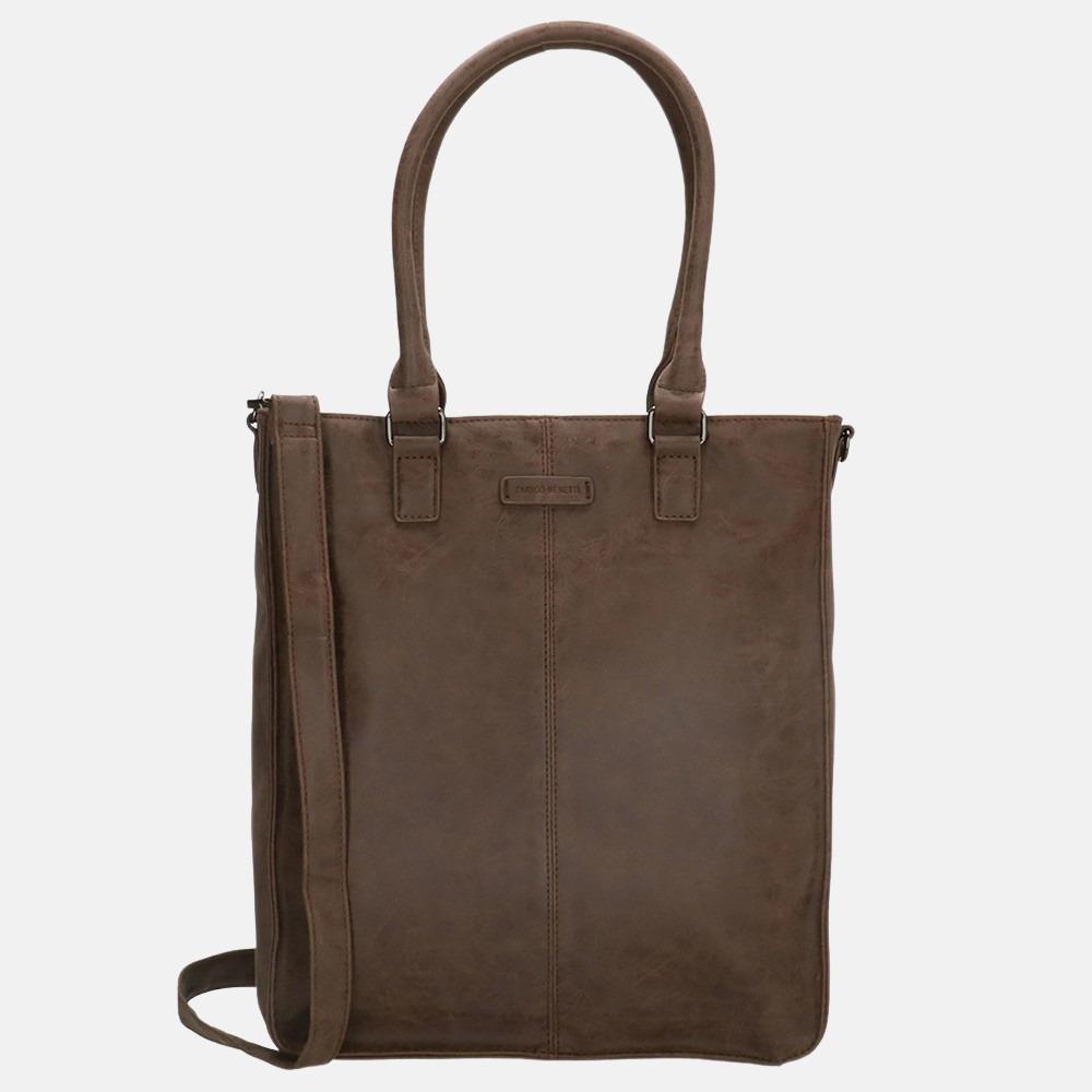 Enrico Benetti Metz shopper 14 inch brown