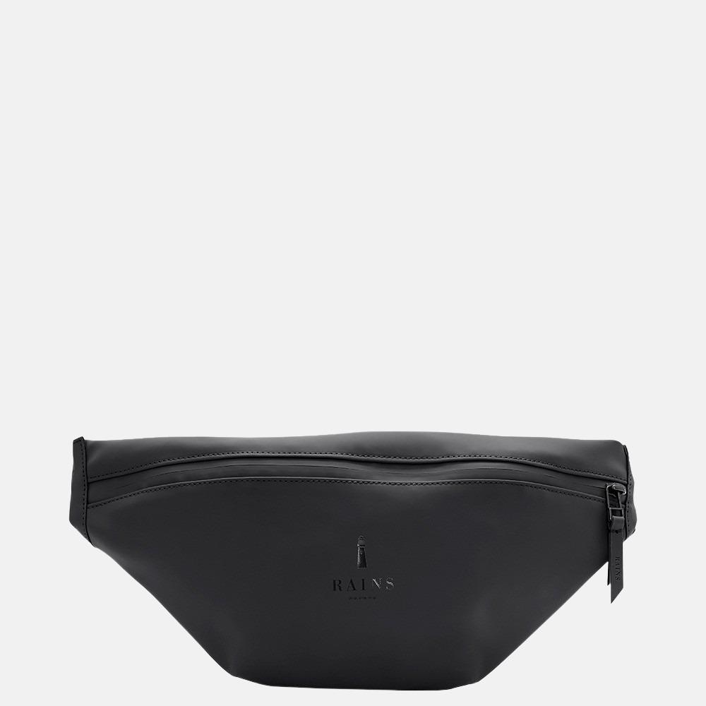 Rains Bum Bag Mini heuptas black