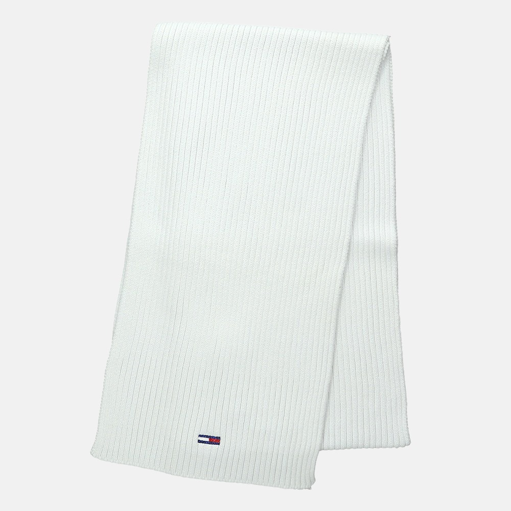 Tommy Hilfiger Basic rib sjaal white