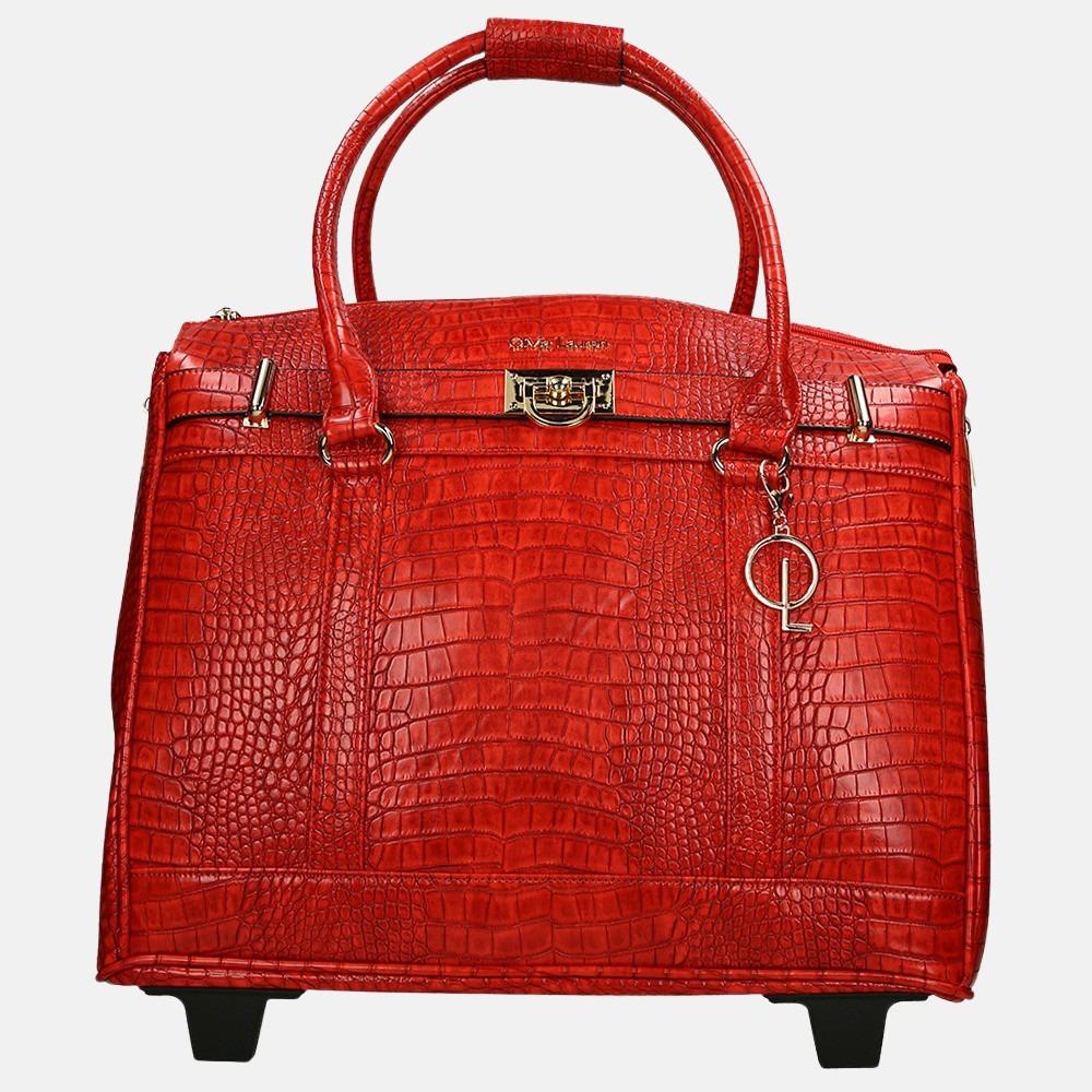 Olivia Lauren Louna laptop trolley red