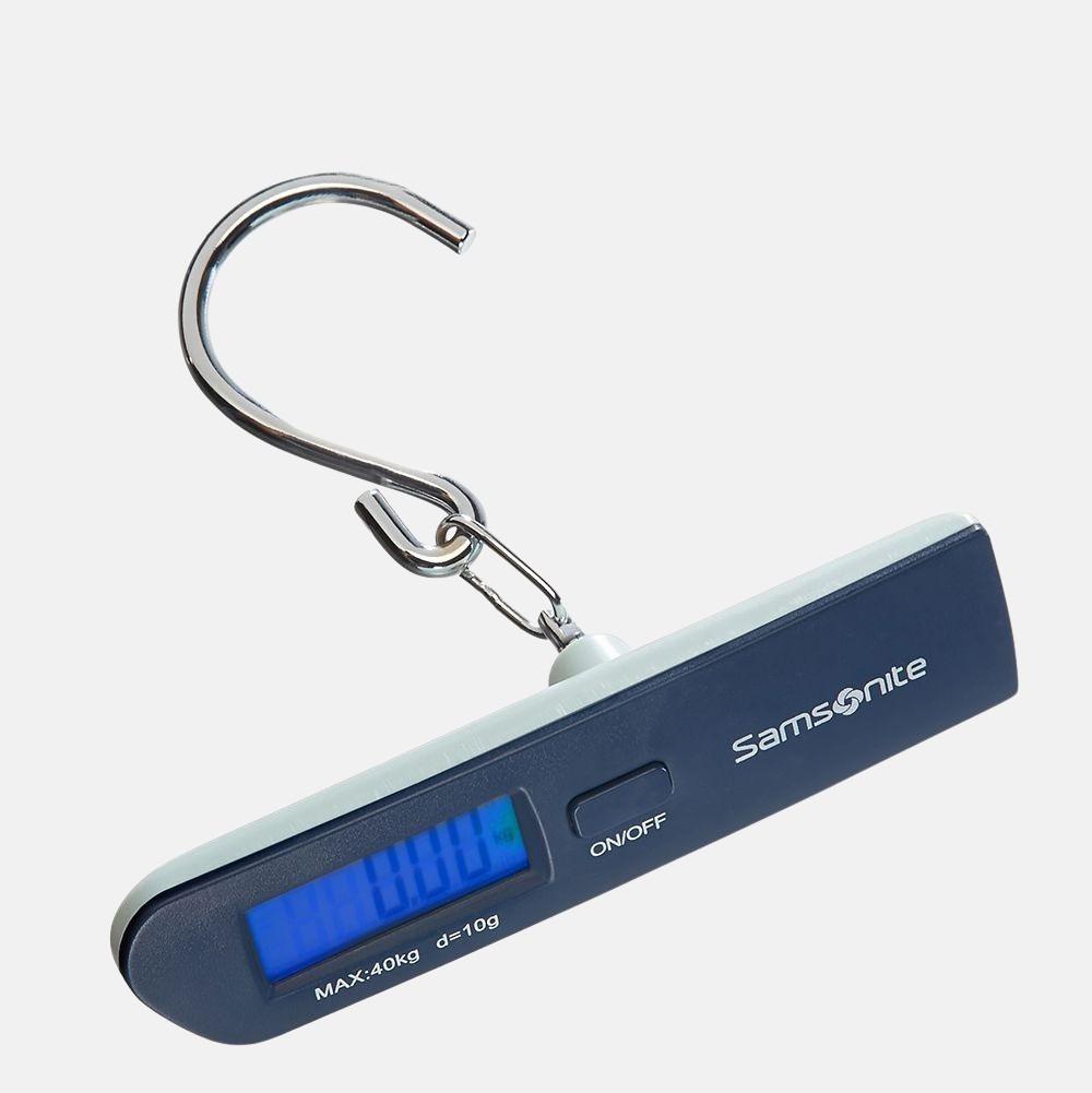 Samsonite digitale kofferweger dark blue