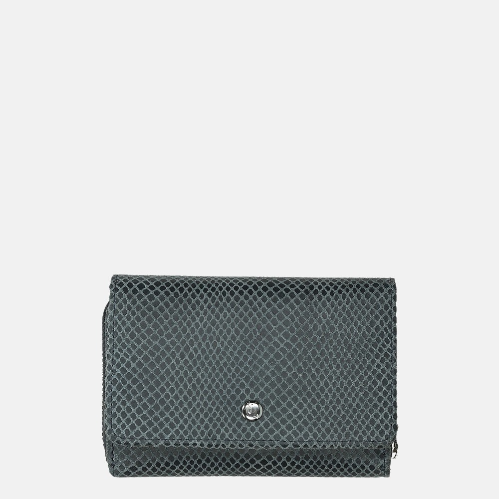 LouLou Essentiels Queen portemonnee XS blue grey