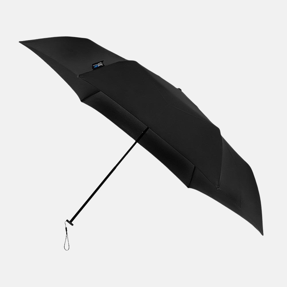 Impliva Travellight opvouwbare paraplu mini black
