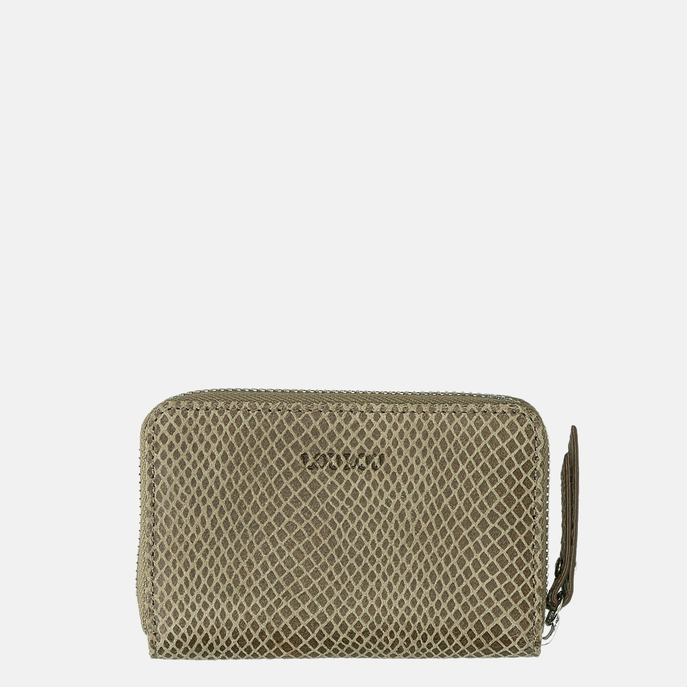 LouLou Essentiels Queen portemonnee XS taupe