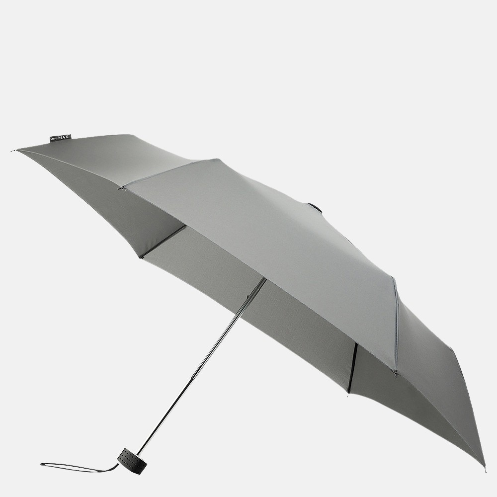 Impliva opvouwbare paraplu basic grey