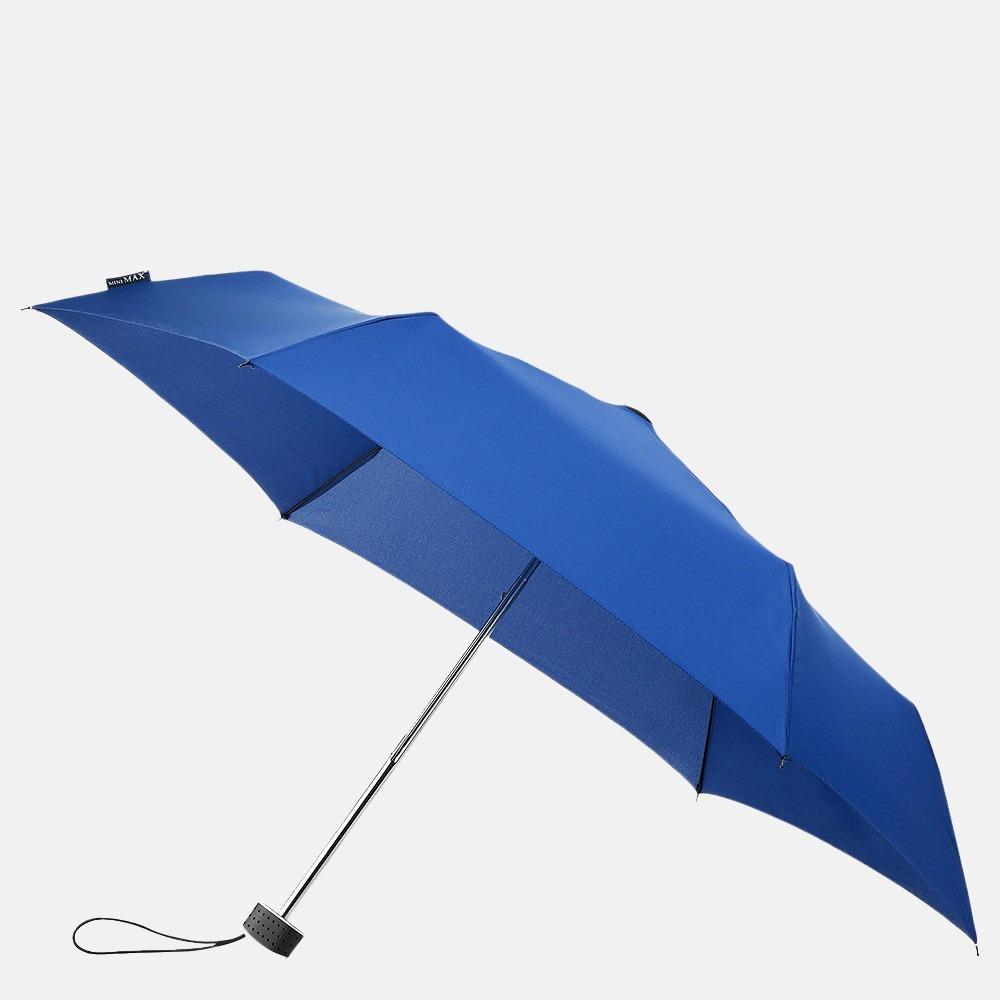 Impliva opvouwbare paraplu basic blue