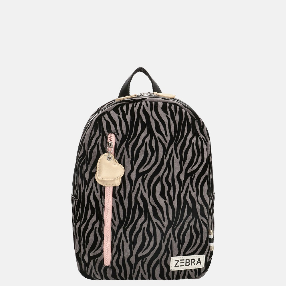 Zebra Trends kinderrugzak M zebra grey