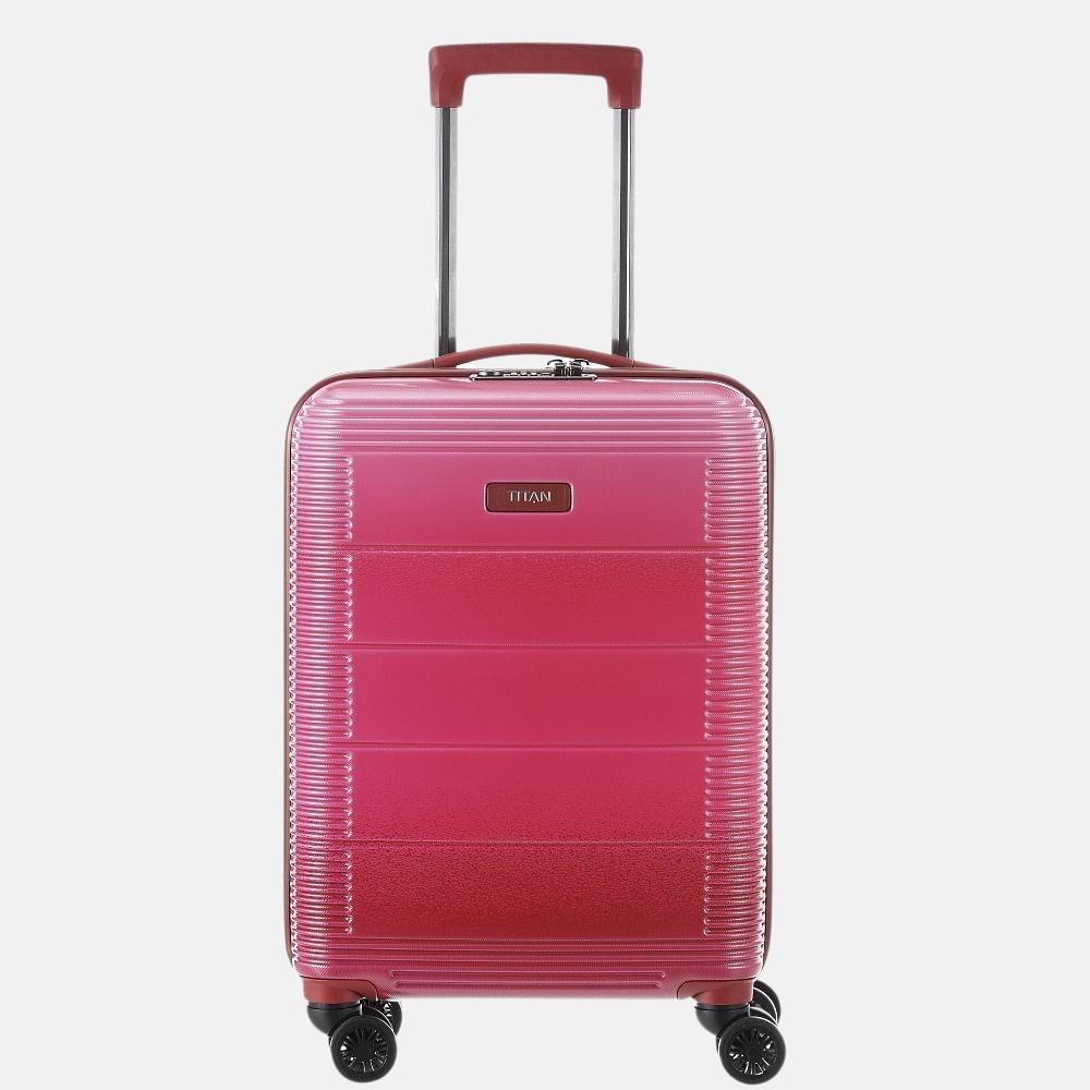 Titan Spring koffer 55 cm pink