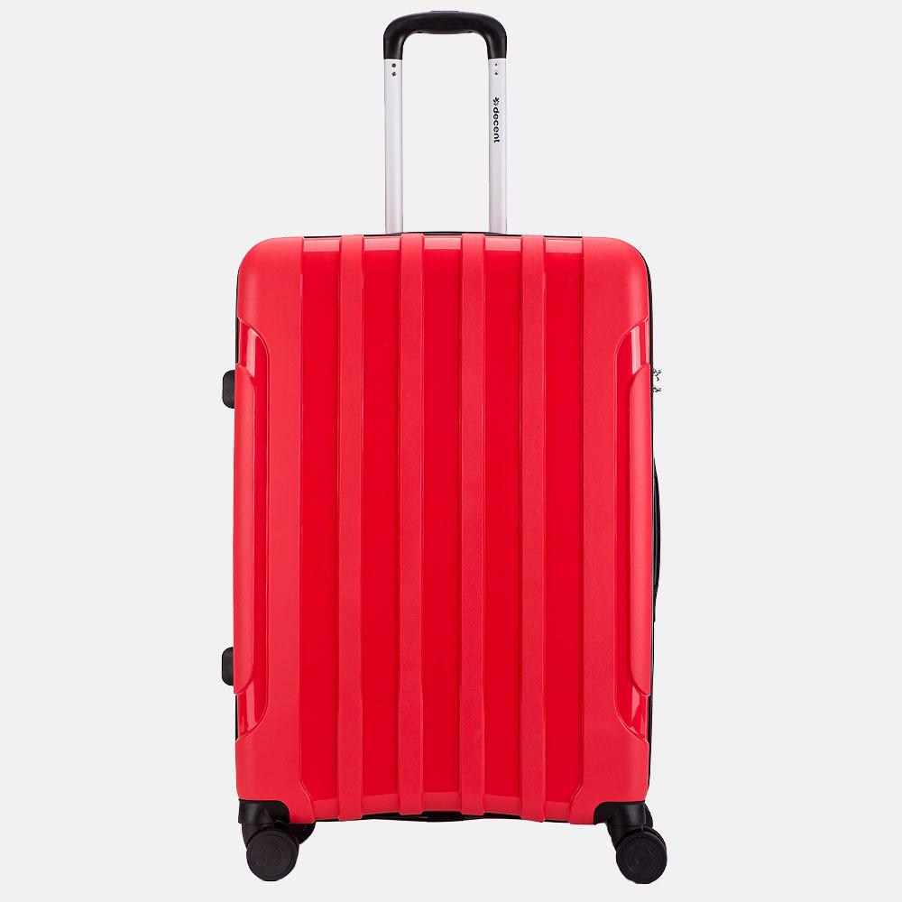 Decent X-Motion koffer 77 cm rood