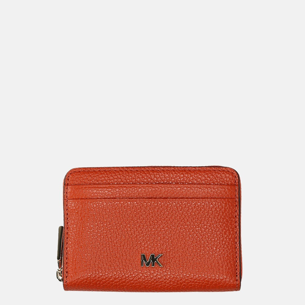 Michael Kors Mott portemonnee burnt orange