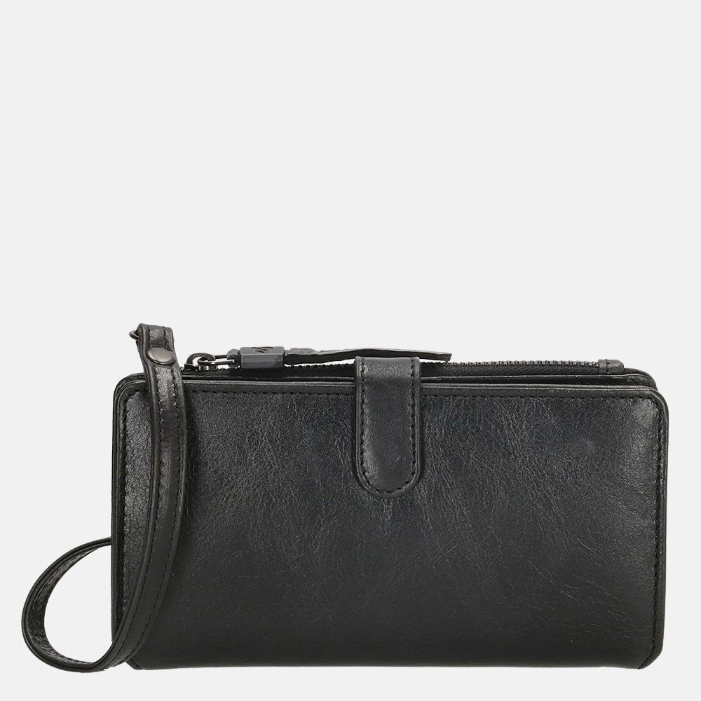 Micmacbags Porto portemonnee/telefoontasje black