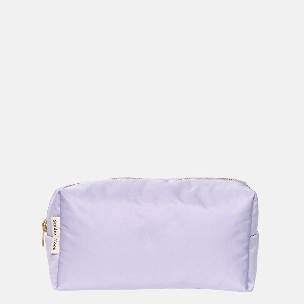 Studio Noos Puffy pouch/toilettas lilac