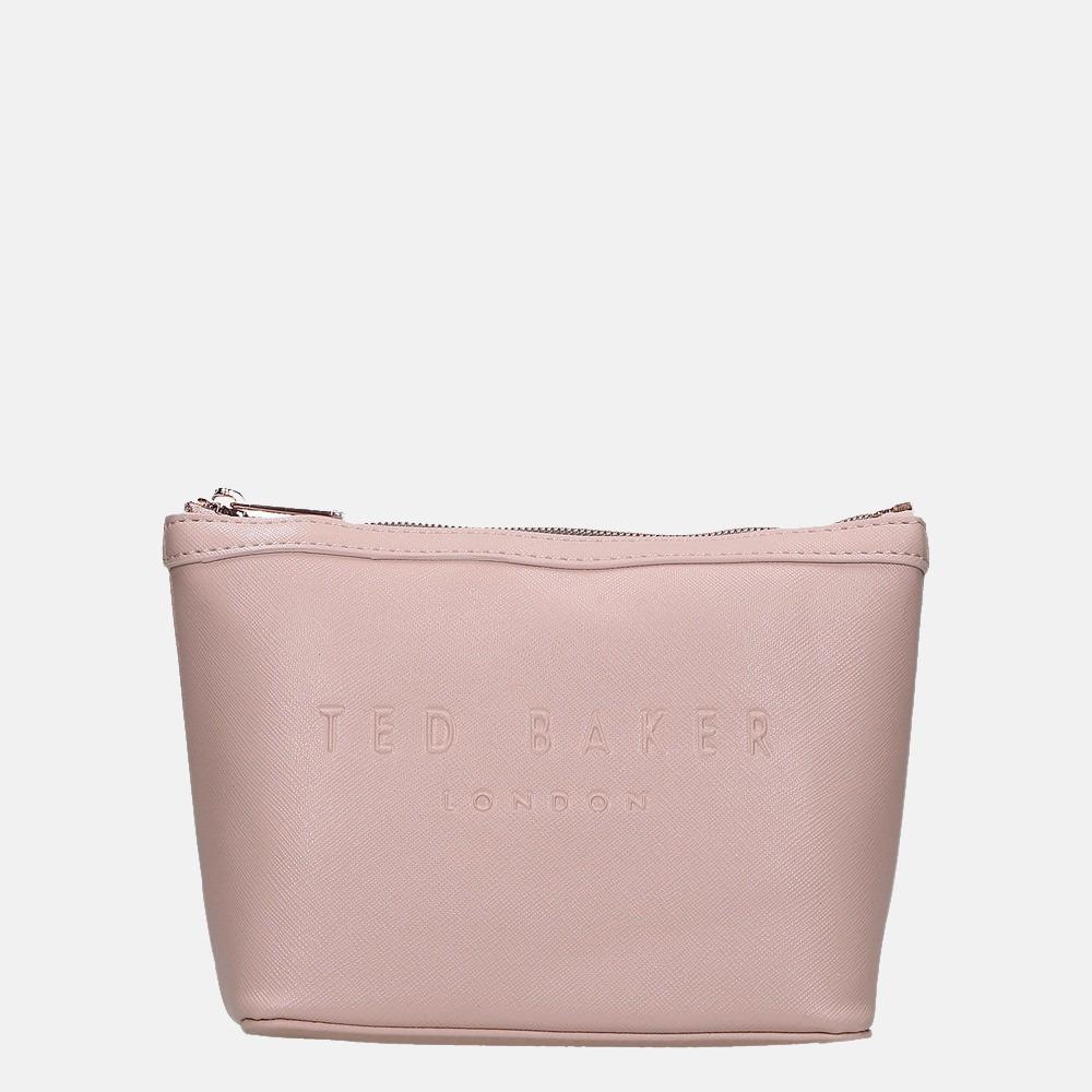 Ted Baker Neevie make-up tas S dusky pink