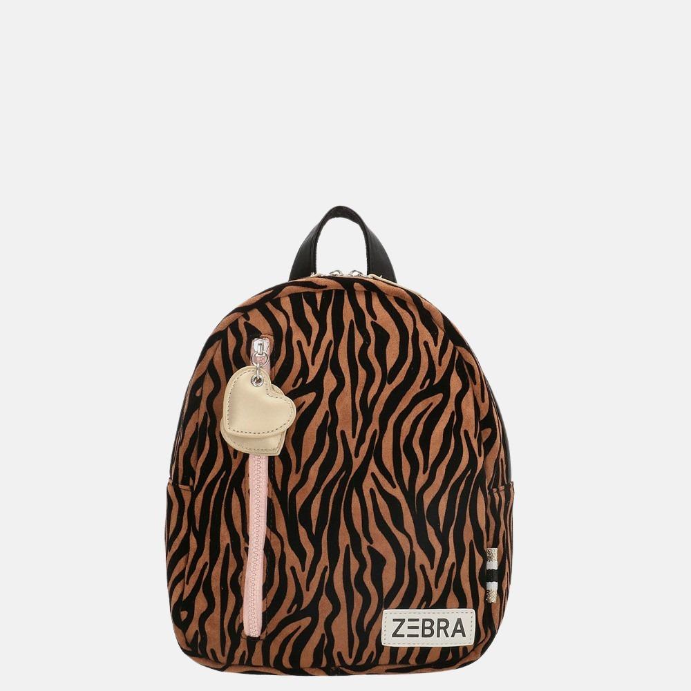 Zebra Trends kinderrugzak S zebra brown