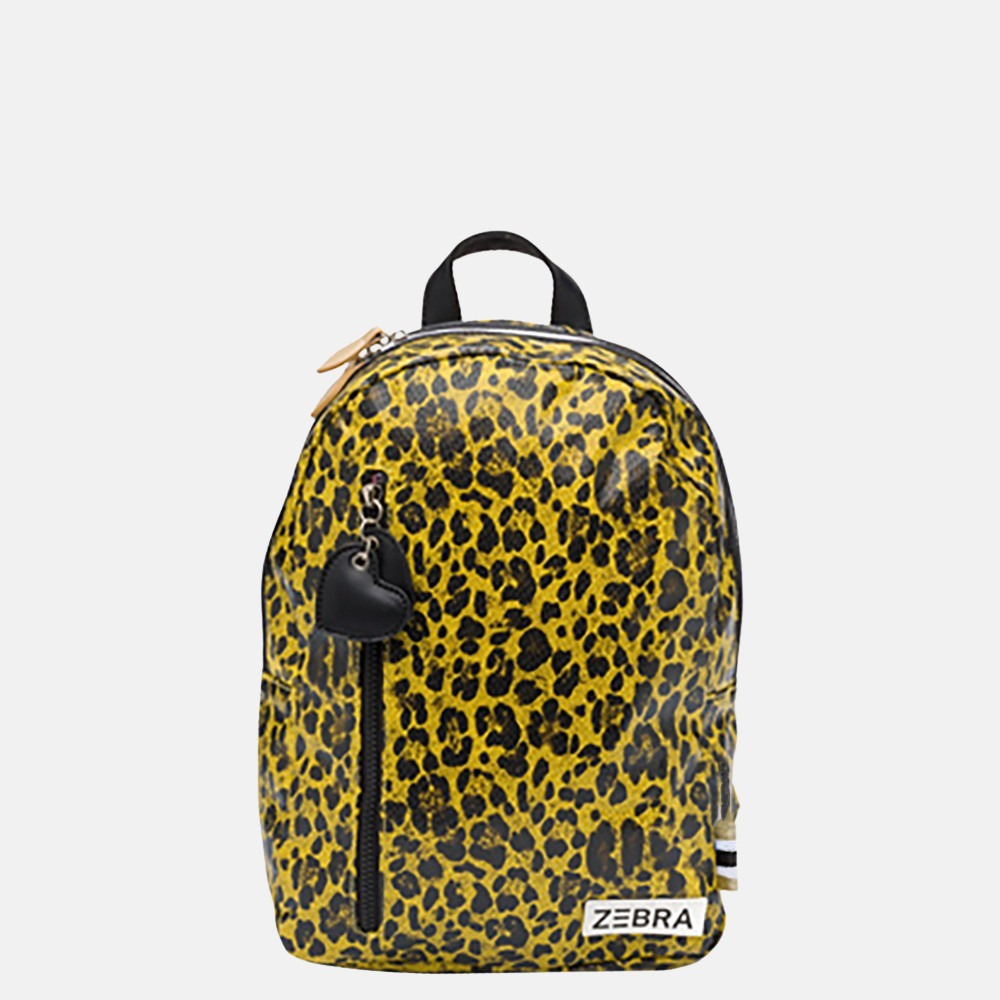 Zebra Trends kinderrugzak yellow leopard