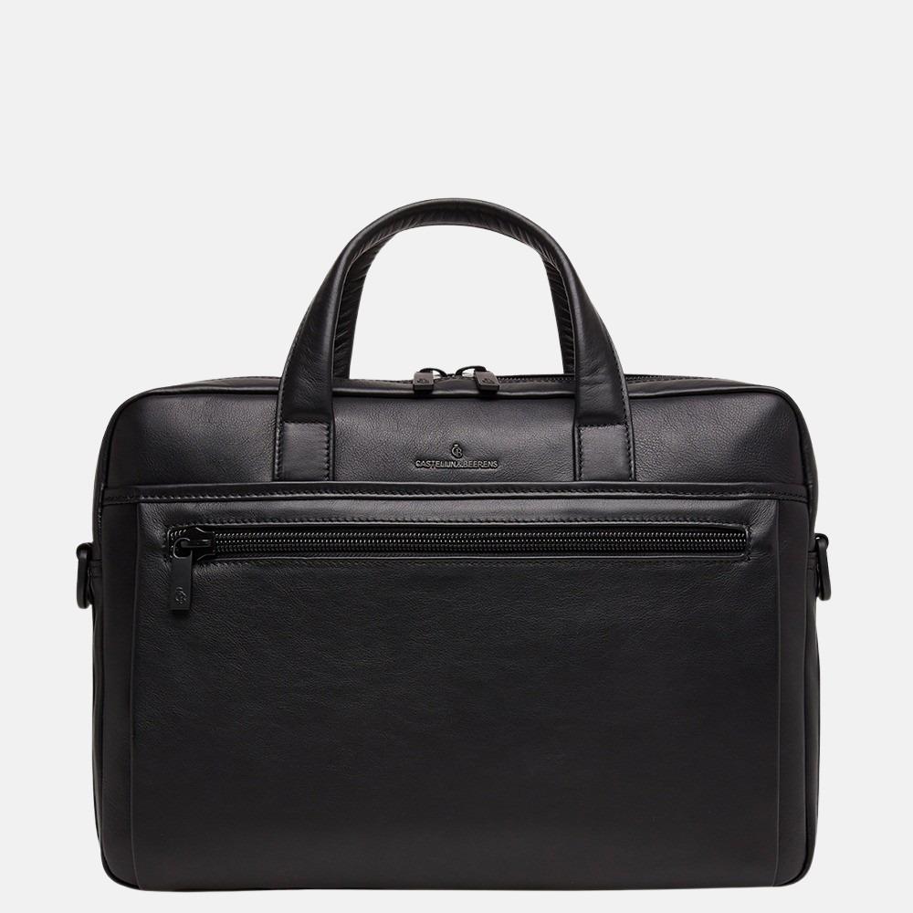 Castelijn & Beerens Echo laptoptas 15.6 inch black