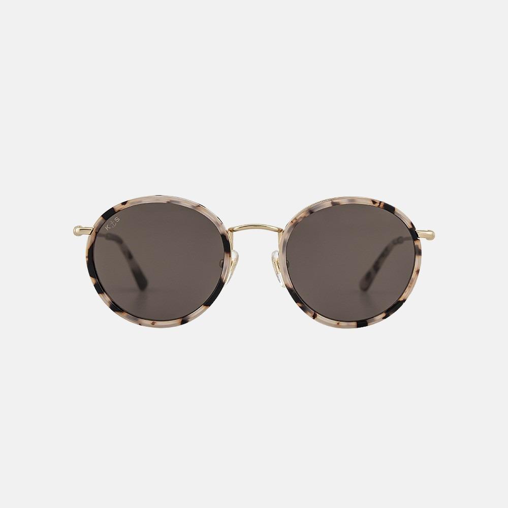 Kapten & Son Amsterdam zonnebril miniral tortoise brown