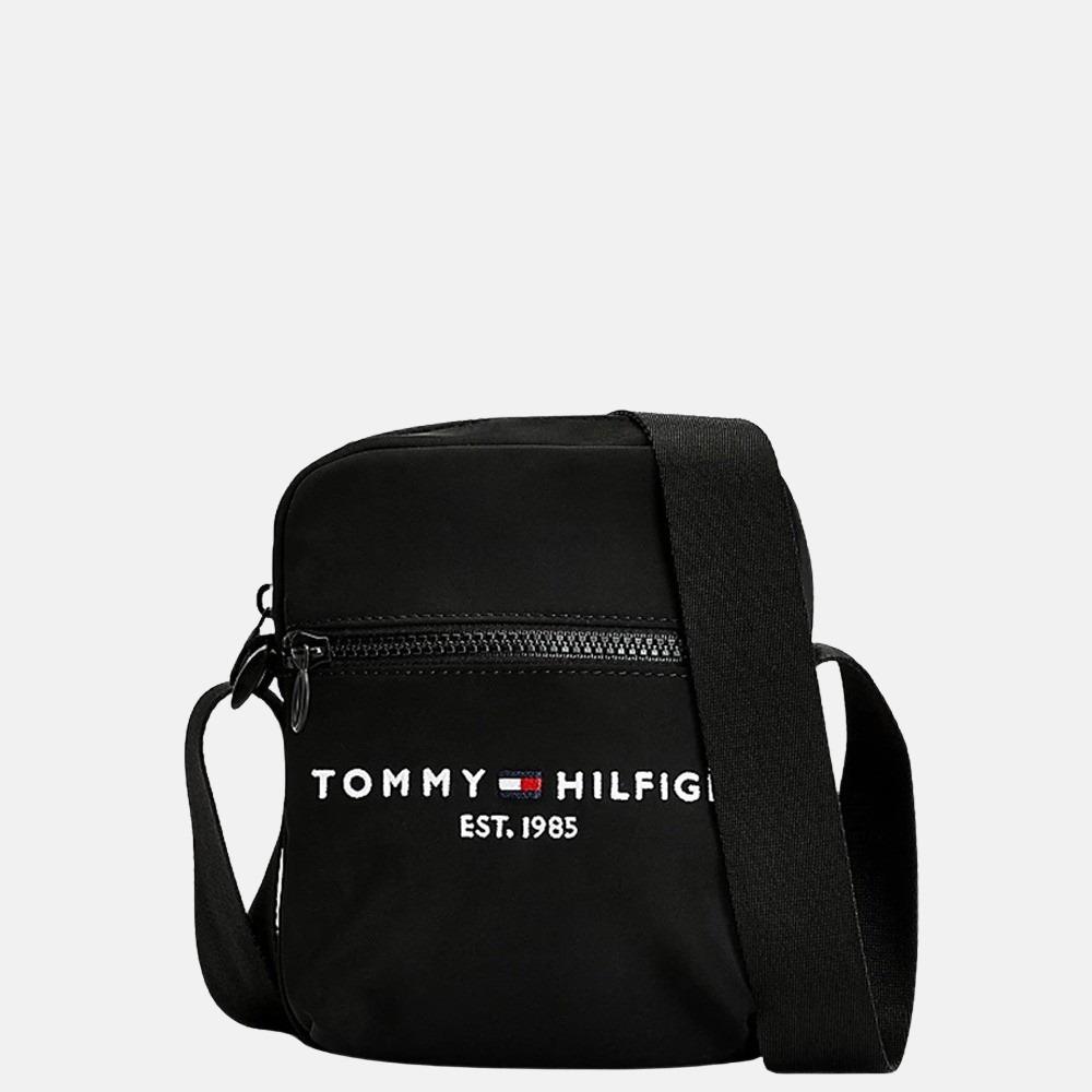 Tommy Hilfiger Established Reporter schoudertas mini black