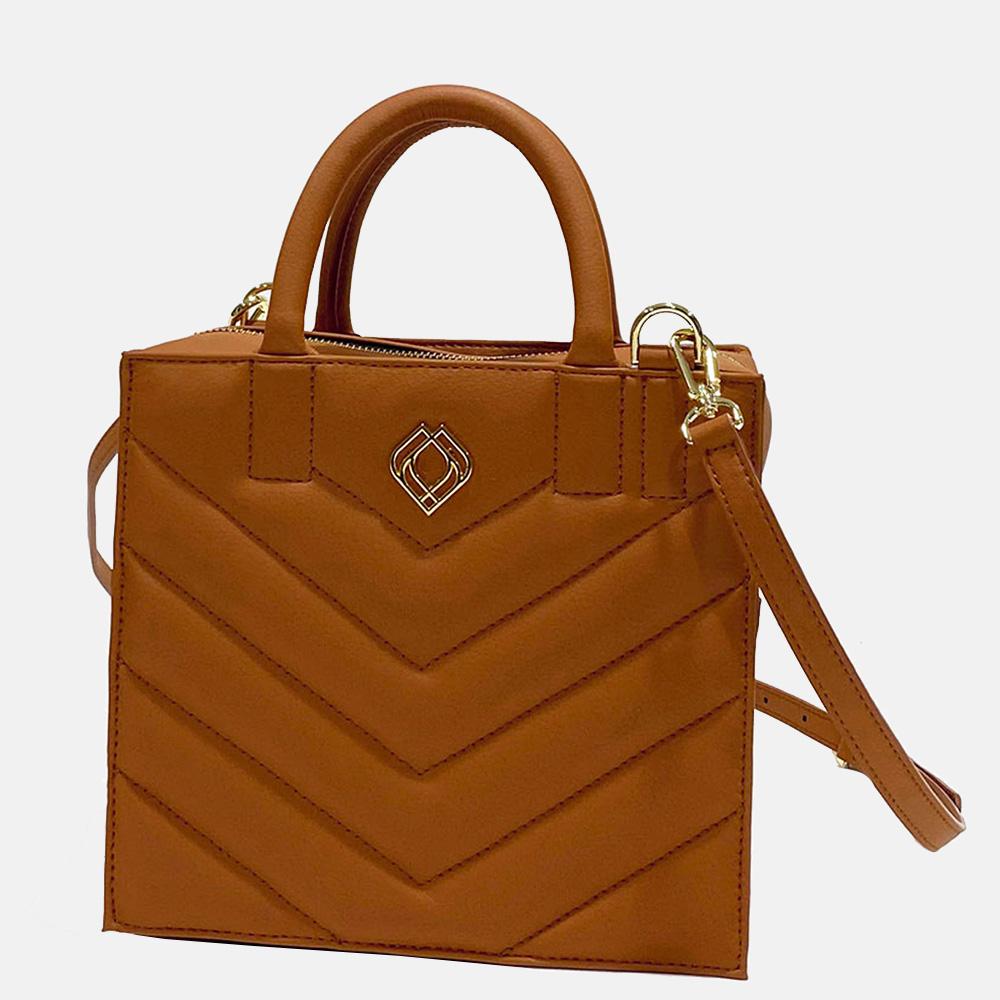 Trashious Boxbag handtas appelleer ginger