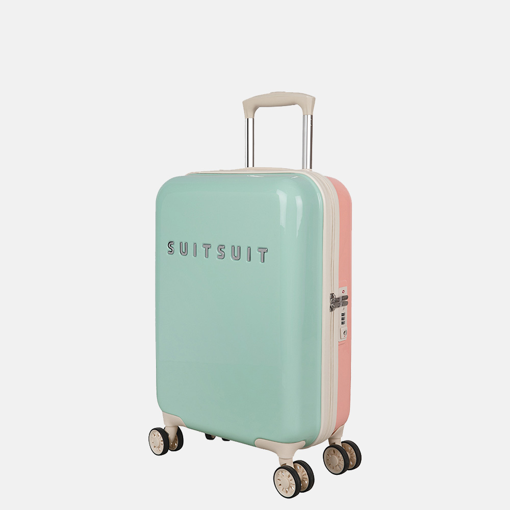 SUITSUIT Fabulous Fifties koffer 55 cm DUO mint & peach