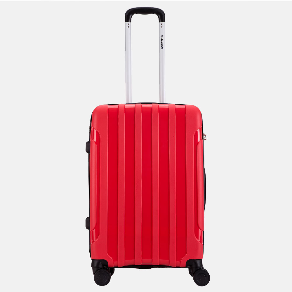 Decent X-Motion koffer 67 cm rood