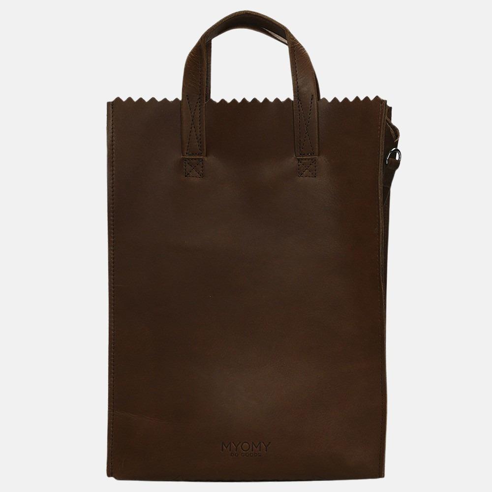 MYOMY My Paper Bag Handy Short Handle hunter waxy original