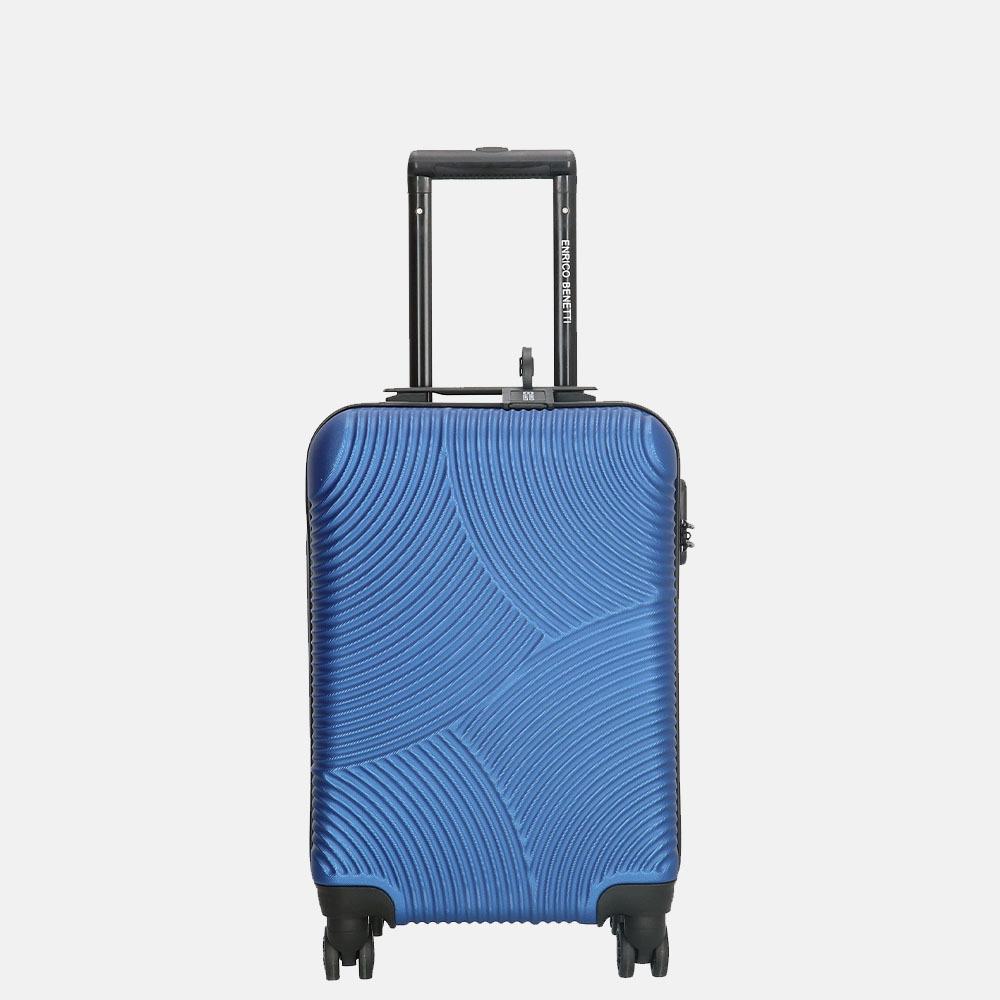 Enrico Benetti Louisville koffer 52 cm steel blue