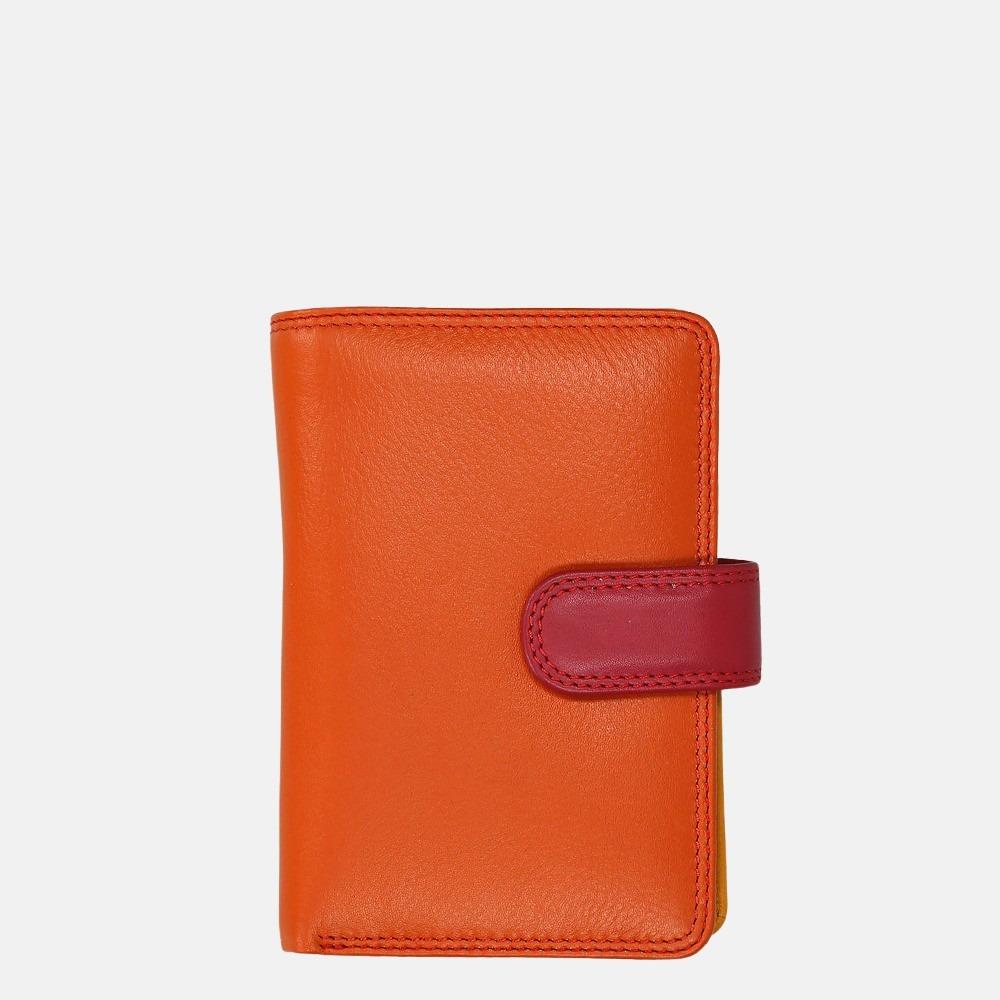 Visconti Rainbow portemonnee orange multi