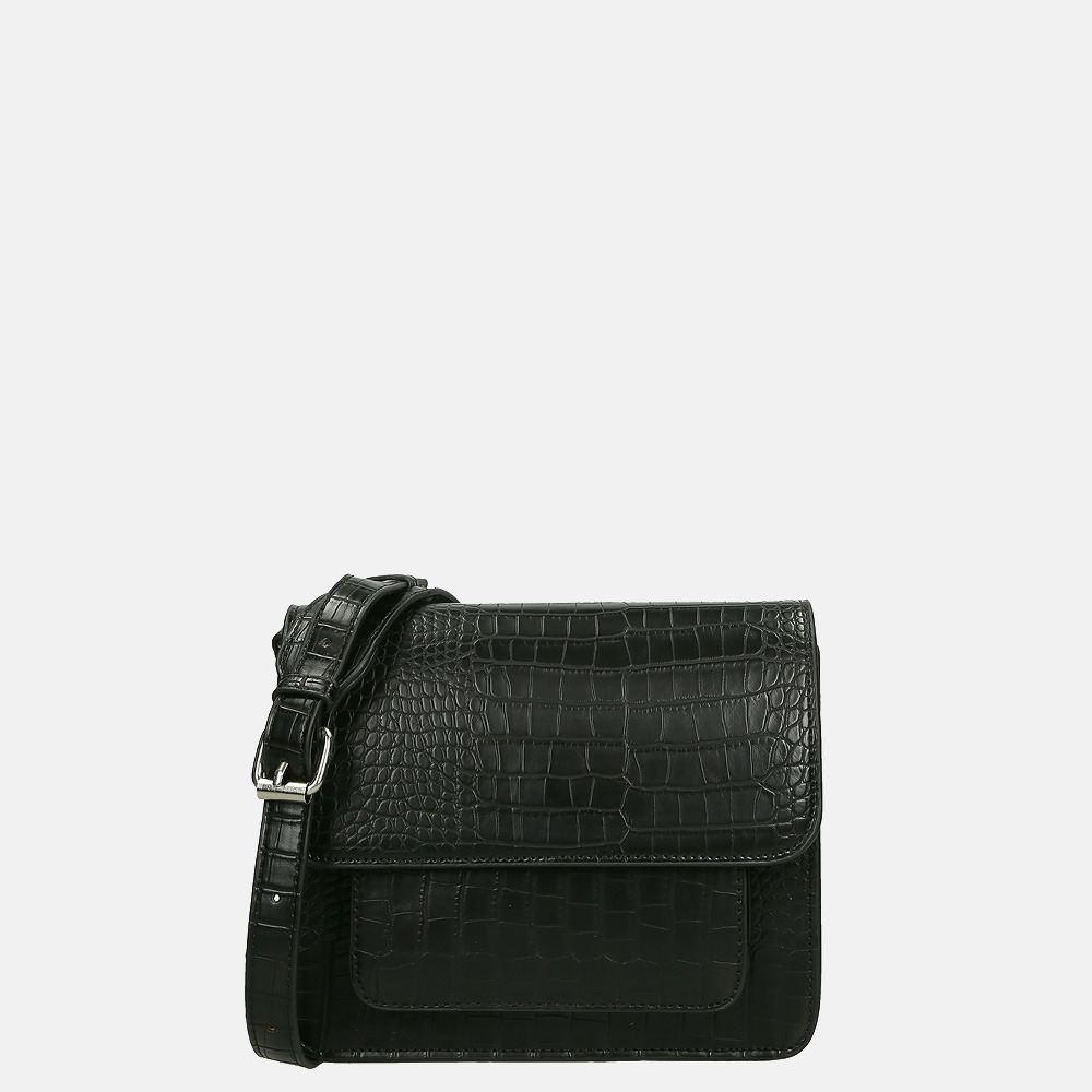 HVISK Cayman Pocket crossbody tas mat black