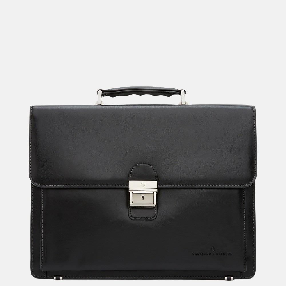 Castelijn & Beerens Realta aktetas 13.3 inch zwart