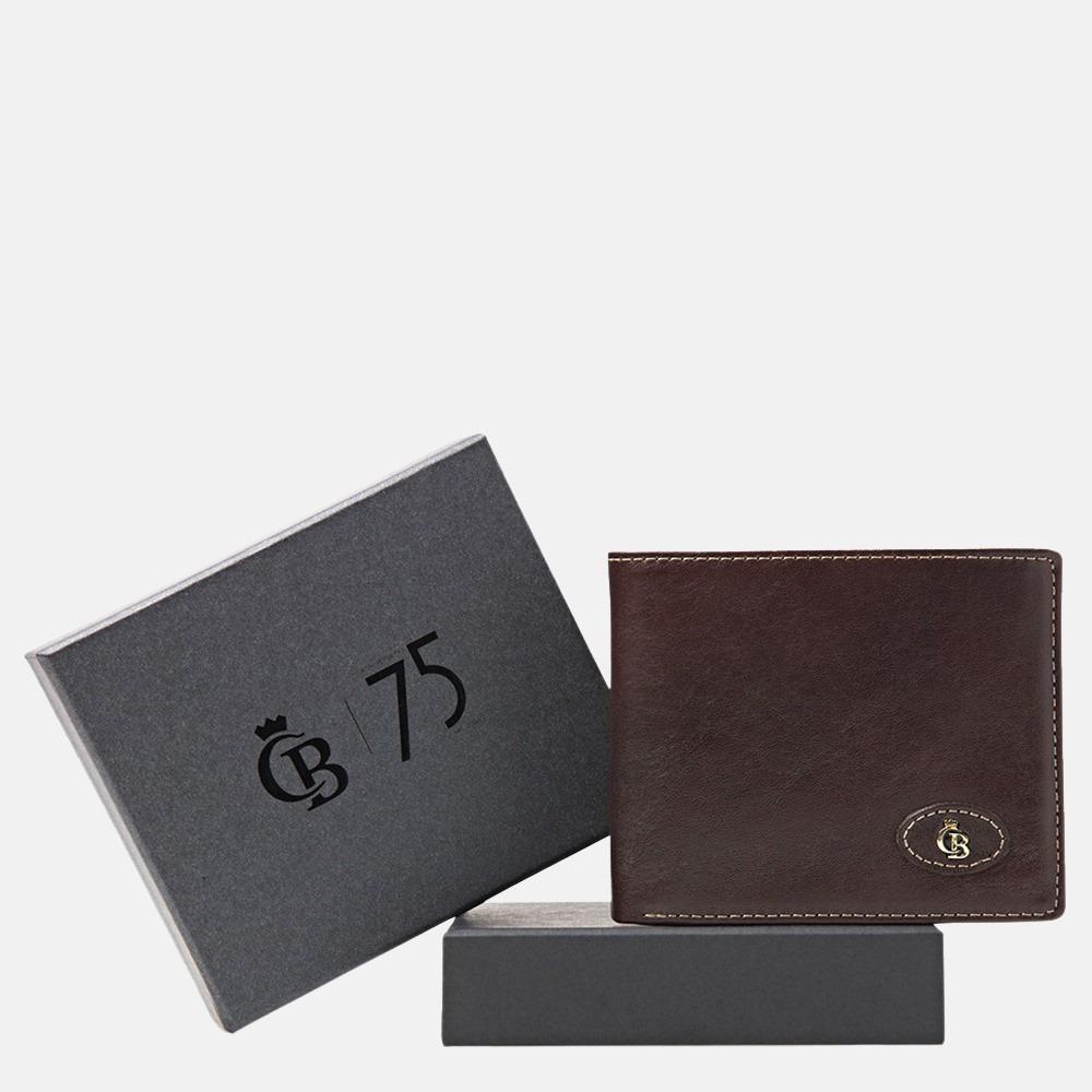 Castelijn & Beerens Gaucho giftbox billfold mocca