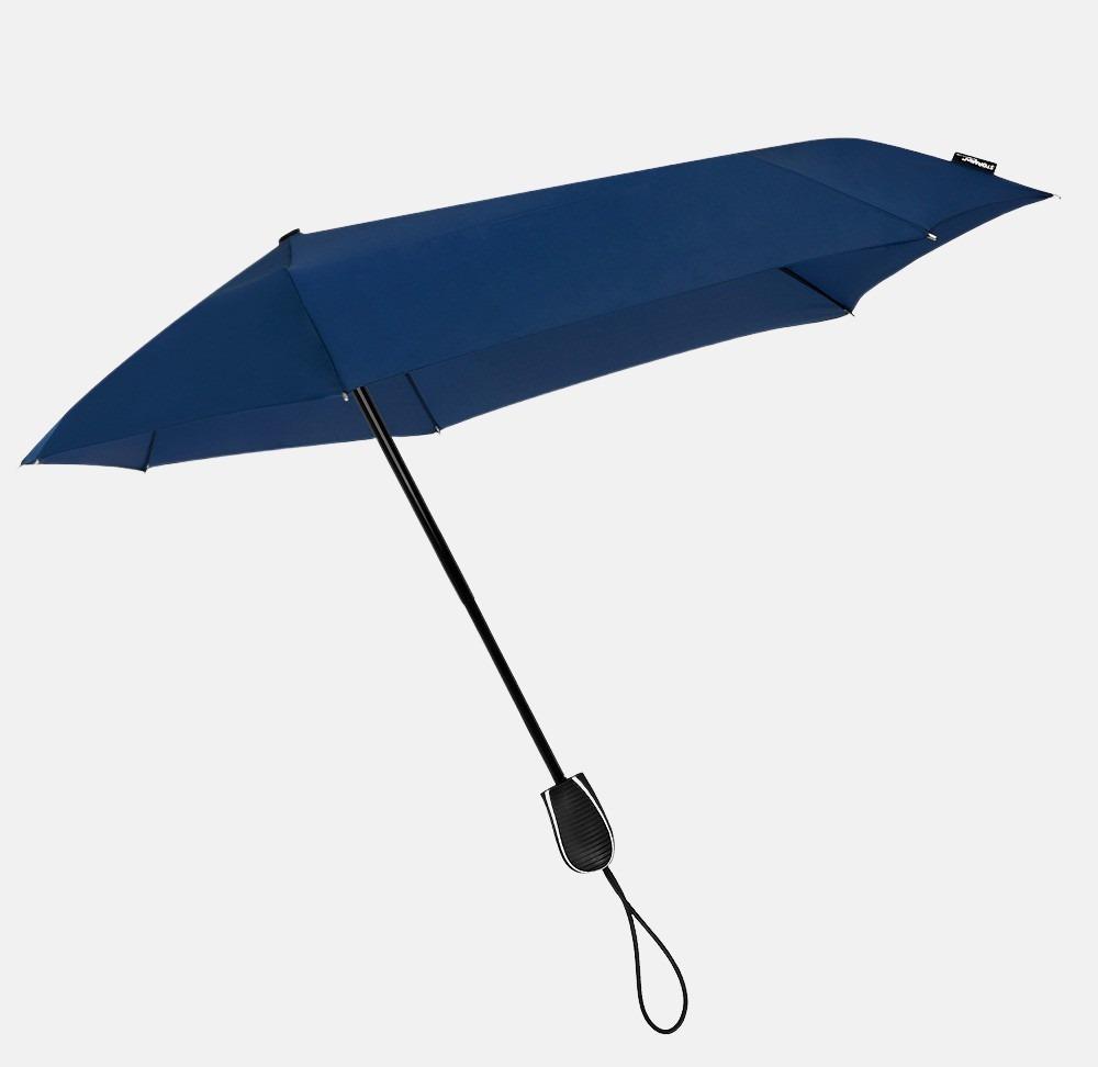 Impliva opvouwbare (storm)paraplu blue