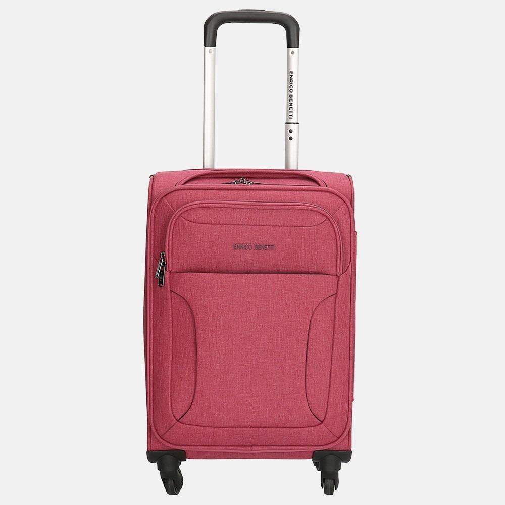Enrico Benetti Chicago koffer 55 cm pink