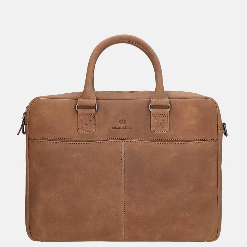 Micmacbags Mälmo laptoptas 15 inch brown