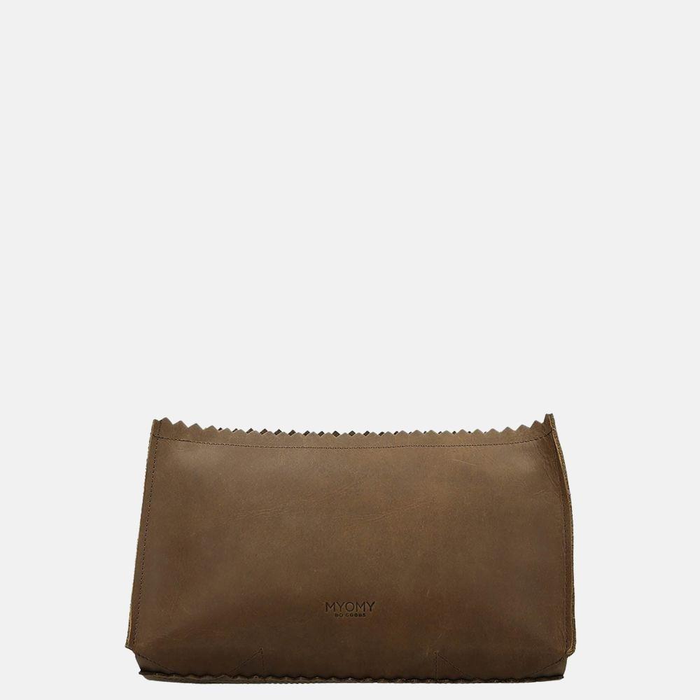 MYOMY My Paper Bag Care-Bag clutch hunter original