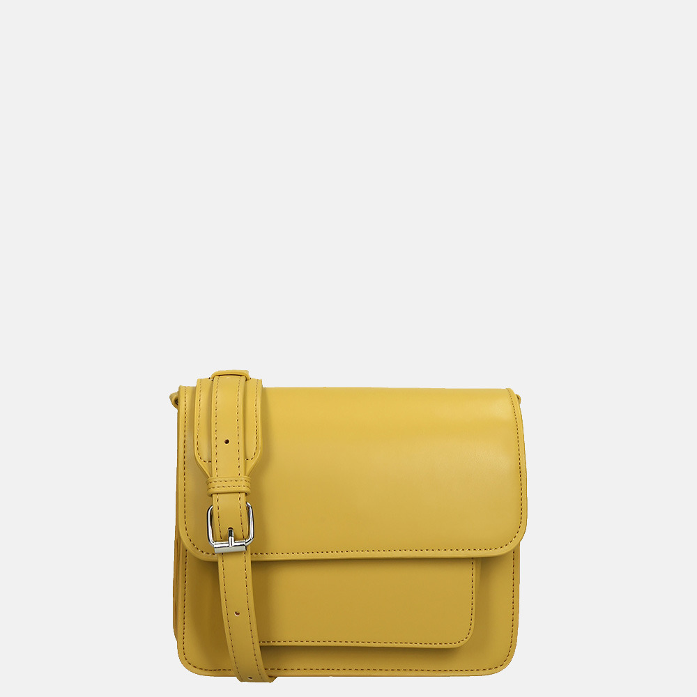 HVISK Cayman Pocket Soft crossbody tas olivenite yellow