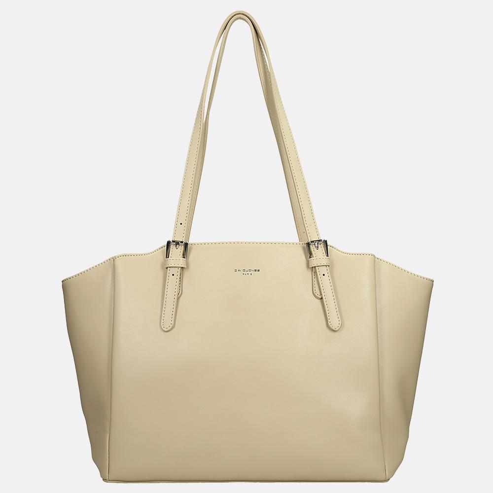 David Jones shopper L beige