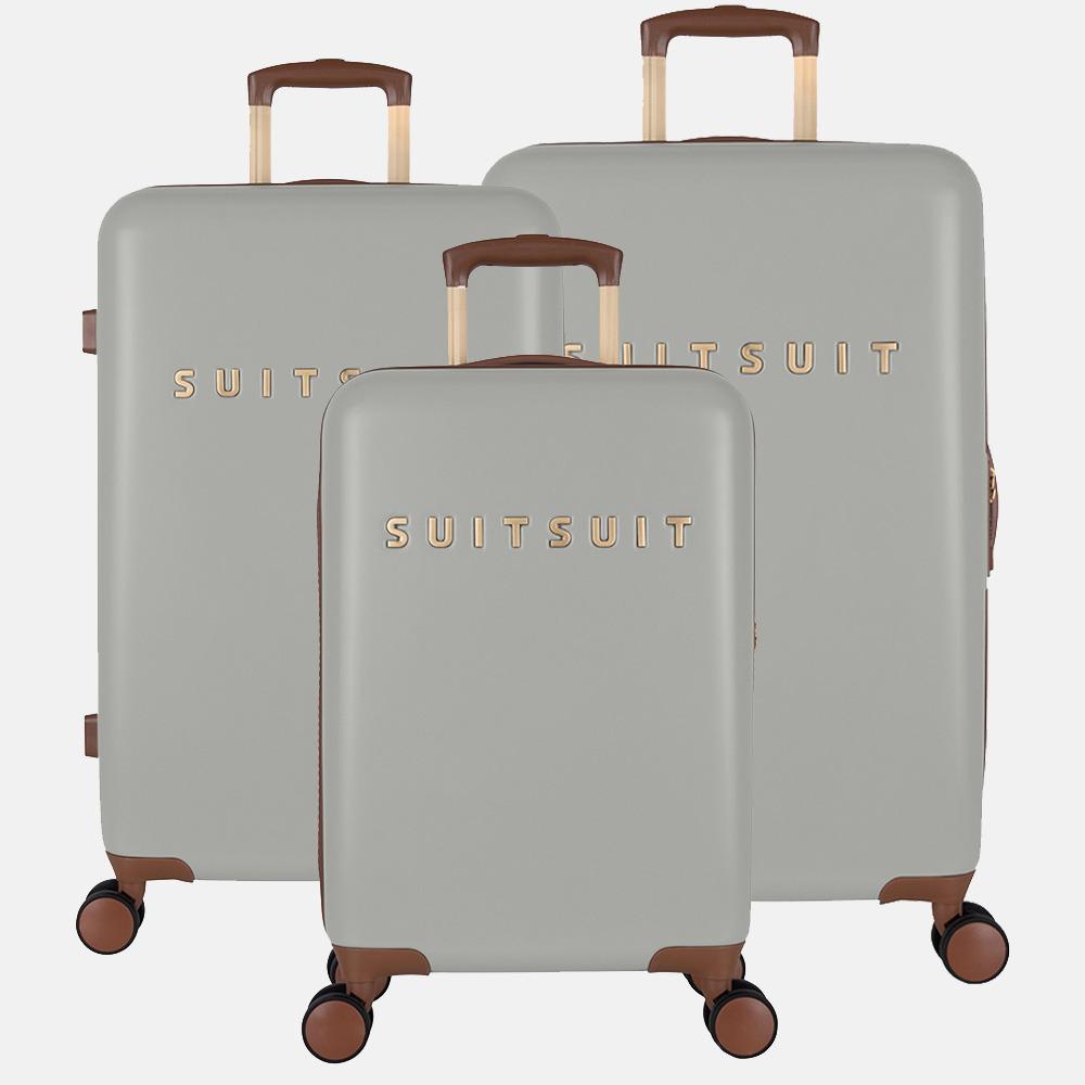 SUITSUIT Fab Seventies kofferset 3-delig limestone