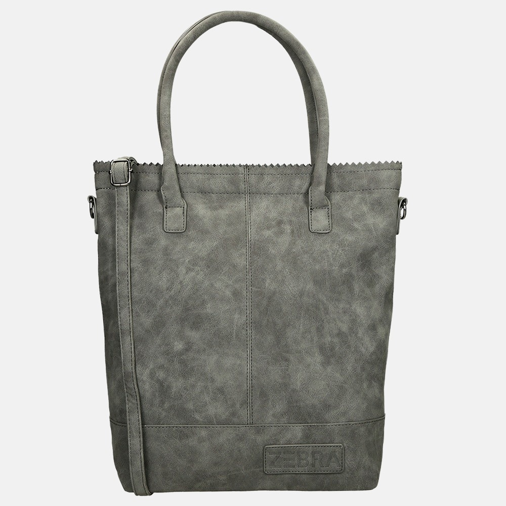 Zebra Trends shopper grey
