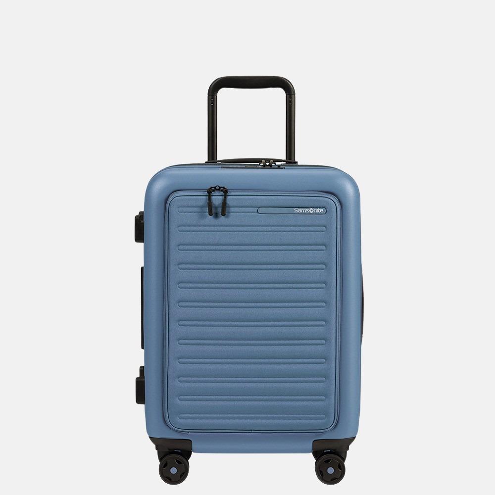 Samsonite StackD handbagage spinner 55 cm ocean