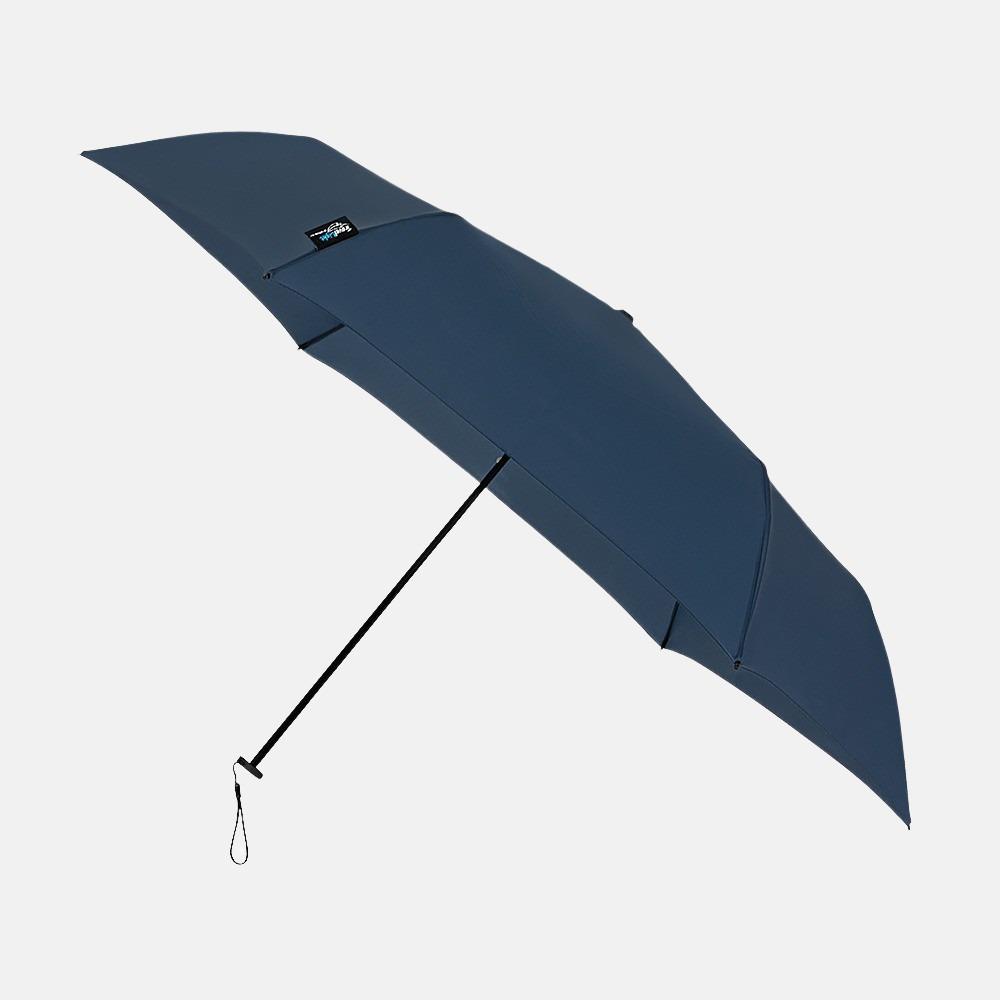 Impliva Travellight opvouwbare paraplu mini blue