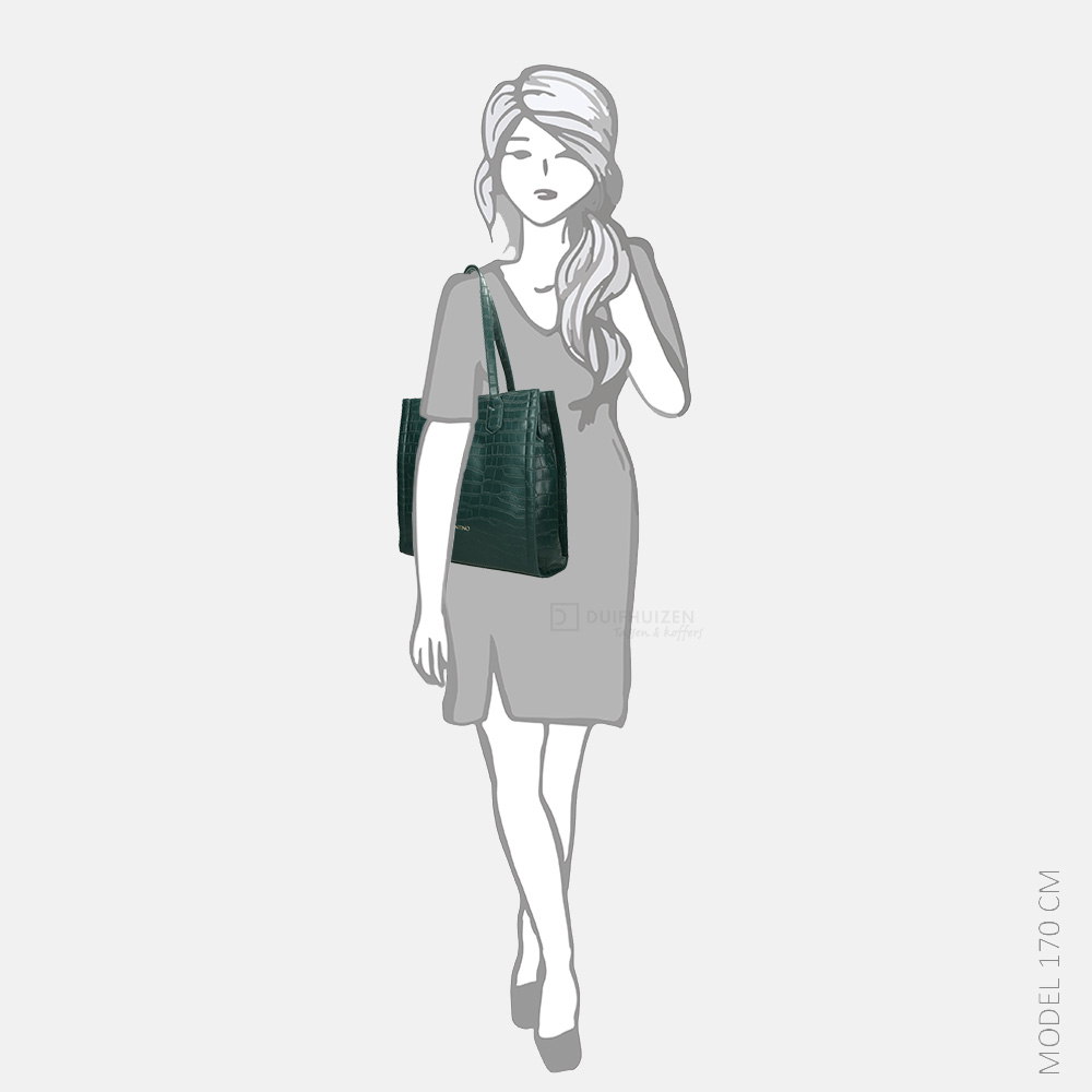 Valentino Bags JUNIPER shopper foresta/grigio