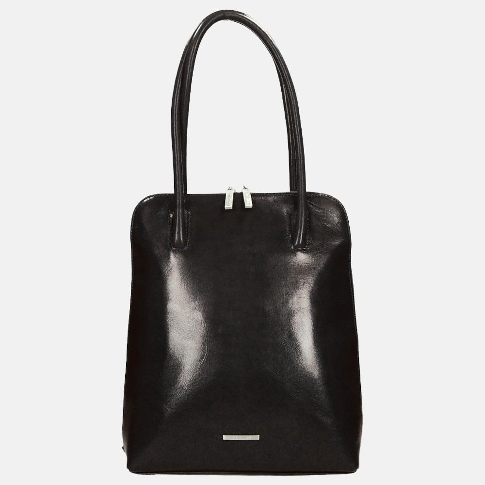 Claudio Ferrici Classico shopper/rugzak black